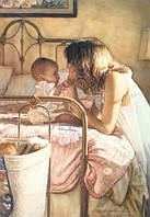 Алмазная вышивка Мама с ребенком KLN 30 х 40 см (арт. FR089)