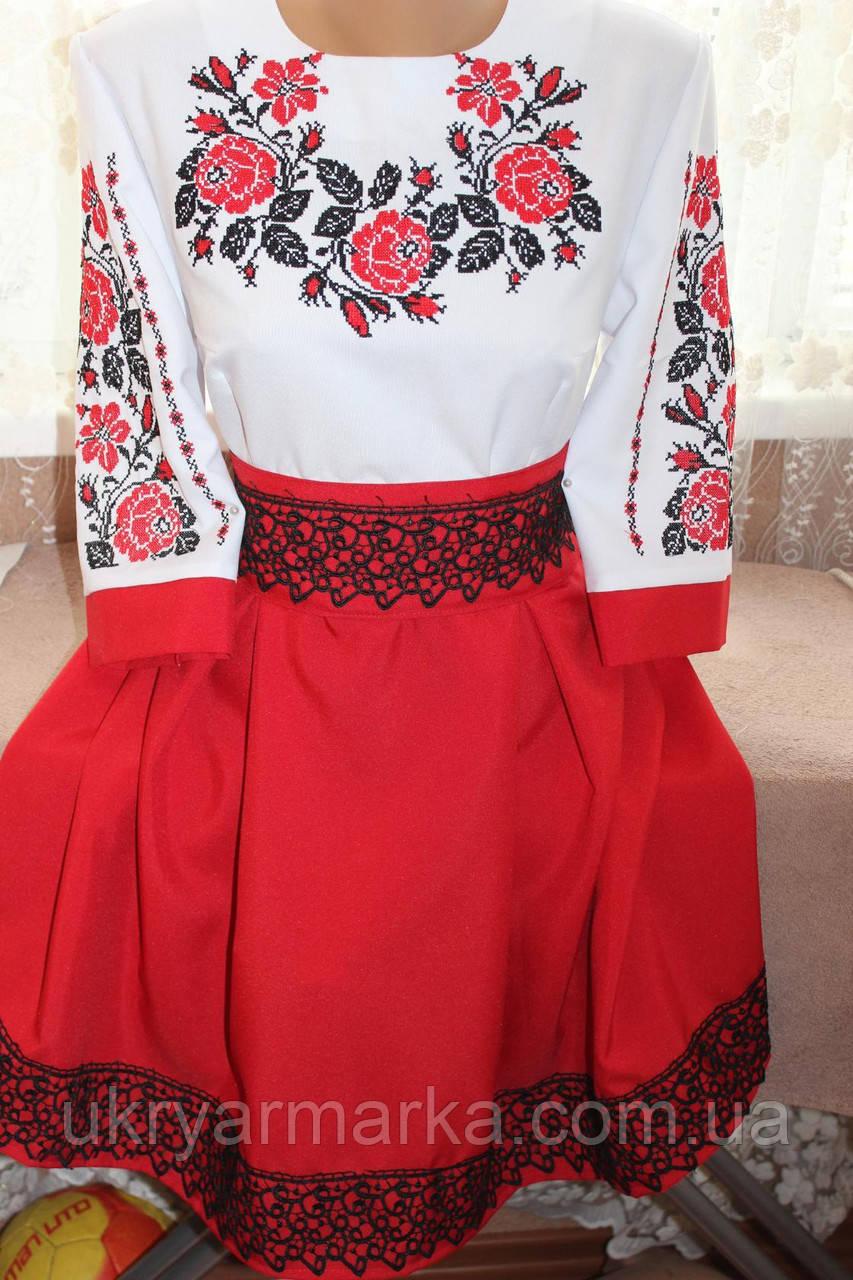 aca14970d66068 Вишите жіноче плаття