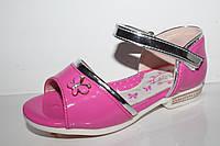 Красивая детская обувь. Нарядные босоножки для девочек оптом от Y.Top D7833-5 (26-31)