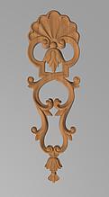 Код ДВ11. Деревянный резной декор для мебели. Декор вертикальный
