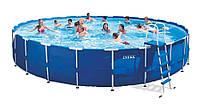 Каркасный бассейн  Intex 28262(28762) Metal Frame Pool (732 х 132)