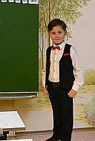 Костюм детский жилетка брюки черного цвета
