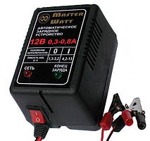 Зарядное устройство MASTER WATT АЗУ 0.3-0.8А 12В мото