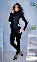 Спортивный стильный женский костюм 1236 ас