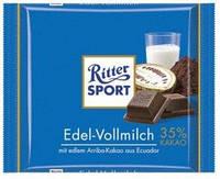 Шоколад RITTER-SPORT EDEL - VOLLMILCH 100Г