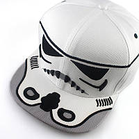 Бейсболка  Звёздные войны Star Wars белый