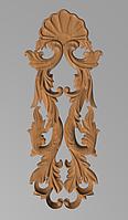Код ДВ12. Деревянный резной декор для мебели. Декор вертикальный, фото 1