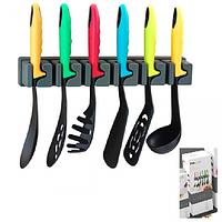 Набор кухонных принадлежностей с креплением (7 предмета в) 34 х 14,5 х 11см SNT 645-008