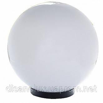 """Світильник вуличний """"Куля"""" STR-09 M200x95 PMMA BALL + BASE IP44"""
