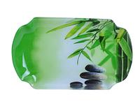 Тарелка `Разнос` 29,4 * 19 см (Зеленый бамбук) SNT 3817