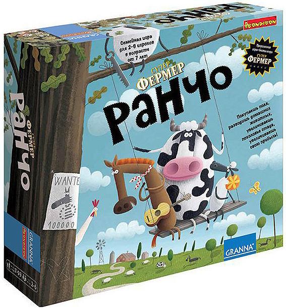 Настольная игра Супер Фермер Ранчо (Super Farmer Rancho) Granna