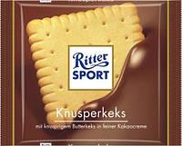 Шоколад RITTER-SPORT KNUSPERKEKS 100Г