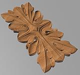 Код ДВ15. Деревянный резной декор для мебели. Декор вертикальный, фото 2