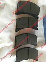Колодки тормозные передние заз 1102 1103 таврия славута Tomex, фото 1