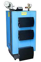 Твердотопливный котел отопительный «УкрТермо» серия 100, 24 кВт (автоматика и вентилятор в комплекте)