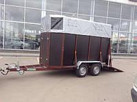 Коневоз. Причіп для перевезення коней (коней)., фото 1