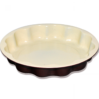 Форма для выпекания с керамическим покрытием круглая d20см,h4см,1.3л SNT 30244