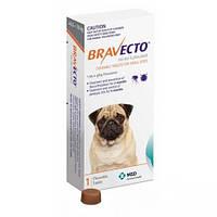 Бравекто (Bravecto) жевательная таблетка от блох и клещей для собак 4,5 - 10 кг.
