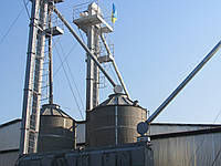 Бункер накопительный вентилируемый БВ-40, БВ-25 для зерна