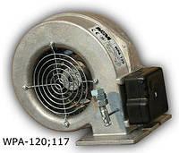 WPA-120 Вентилятор для котла с гравитационной заслонкой двигатель EBM Papst (германия)