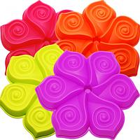 Форма для выпекания кексов Цветок h3см,d25см SNT 20056