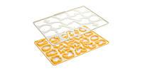 Форма лист для печенья пасхальная DELICIA