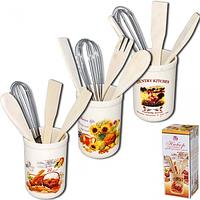 Набор кухонных принадлежностей Кантри Микс SNT 6034-4