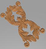 Код ДВ17. Деревянный резной декор для мебели. Декор вертикальный, фото 2