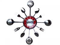 Часы настенные Столовые Приборы 37*37*4.5 см SNT 01-056