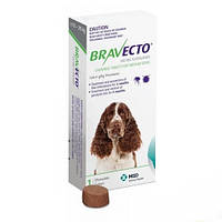 Бравекто (Bravecto) жевательная таблетка от блох и клещей для собак 10 - 20 кг., фото 1