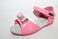 Детские босоножки для девочек от Apawaa M-300 розовый (26-30)