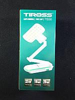 Лампа настольная светодиодная Tiross 56 с аккумулятором