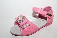 Детские босоножки для девочек от Apawaa M-301 розовый (26-30)
