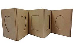 "Рамка картонная ""гармошка"""