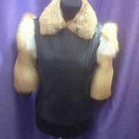 Пошив куртки из натуральной кожи и меха , фото 1