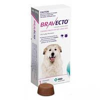Бравекто (Bravecto) жевательная таблетка от блох и клещей для собак 40 - 56 кг., фото 1