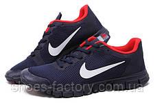 Кроссовки мужские в стиле Nike Free Run 3.0 V2, Dark Blue\Red, фото 2