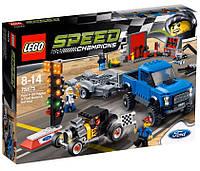 Lego Speed Champions Форд F-150 Raptor и Форд Model A Hot Rod 75875