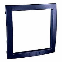 Рамка Schneider-Electric Unica Colors внутрішня синій індиго. MGU4.000.42