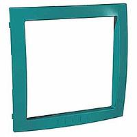 Рамка Schneider-Electric Unica Colors внутренняя зеленый мох. MGU4.000.06