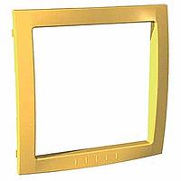 Рамка Schneider-Electric Unica Colors внутренняя желтый. MGU4.000.01