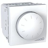 Диммер Schneider-Electric Unica поворотно-натискний 40-1000 Вт білий. MGU5.512.18
