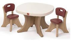 Столики, стульчики и парты для детей