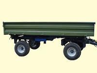 Тракторный самосвальный прицеп 2ТСП-8 к тракторам МТЗ-82 грузоподъемность 6 т , об'єм 5,4 м3, фото 1