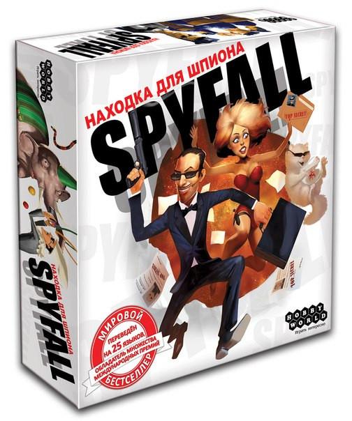 """Настольная игра """"Spyfall. Находка для шпиона"""" Hobby World"""