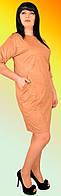 Красивое женское платье из жаккарда 1130