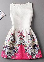 Платье с принтами