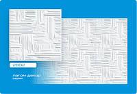 Плитка потолочная Лагом белая № 2602