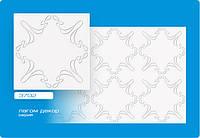 Плитка потолочная Лагом белая № 3702