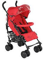 Детская коляска трость Quatro Lily №1 красный (Кватро, Польша)